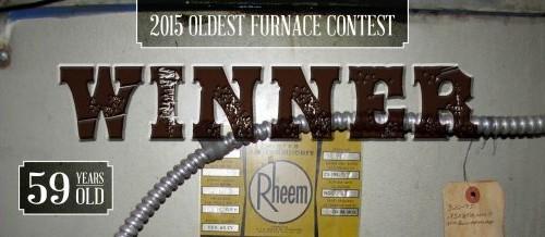 2015 Oldest Furnace Contest Winner