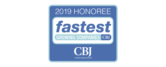 A 2019 Fastest Growing Company