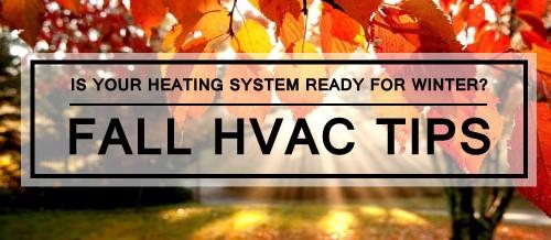 Fall HVAC Maintenance Tips