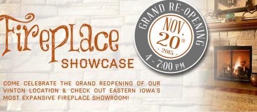 Vinton Showroom Grand Reopening – Press Release